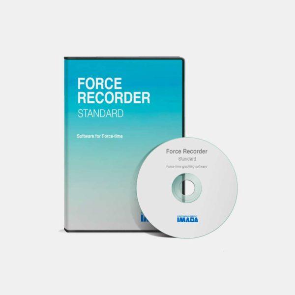 Force Recorder Standard software completo per grafici forza-tempo